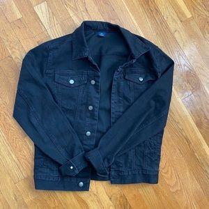Black Denim Jacket Women's Medium or Men's Small